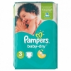 Couches Pampers 3 (6-10kg) 72