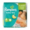 Couches Pampers 4 (10-15kg) 36